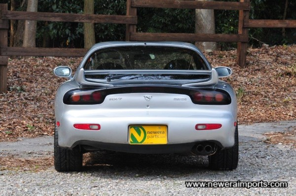 1999 +  original rear spoiler is also fitted.