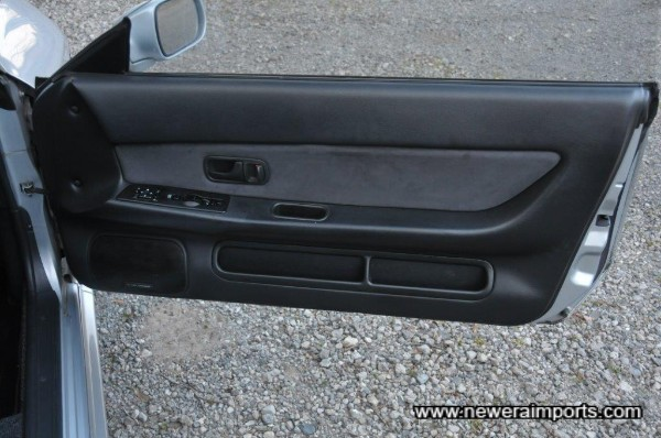 Door trims are also in excellent condition.
