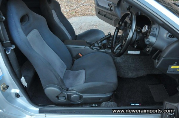 Seat is in amazing original condition without significant fading!