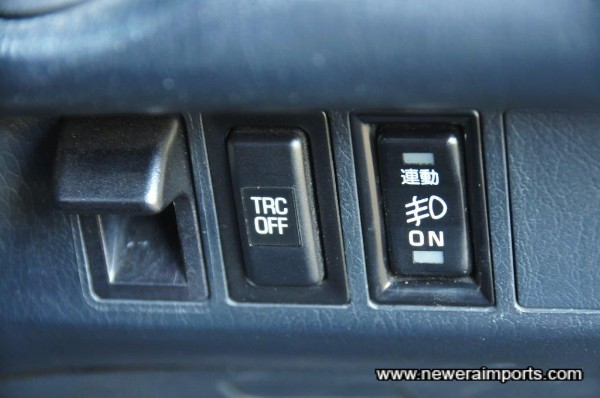 Very rare Traction Control - this was a 4K GBP Option when new!!
