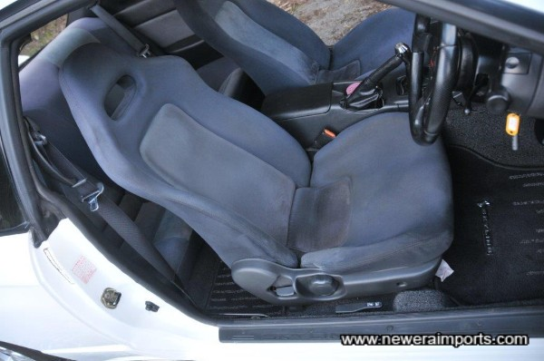 Interior is in excellent condition in keeping with being a non smoker's car.