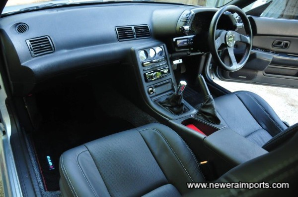 Interior conversion by Robson leather is brand new.