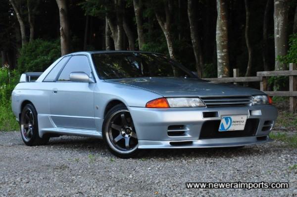 Genuine Fujimura Auto front lip spoiler.