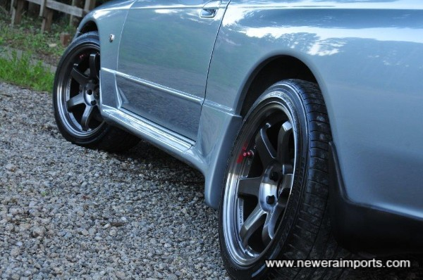 Stunning Forged TE37 SL Wheels fitted!