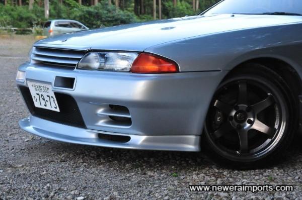 Fujimura Auto front lip spoiler.