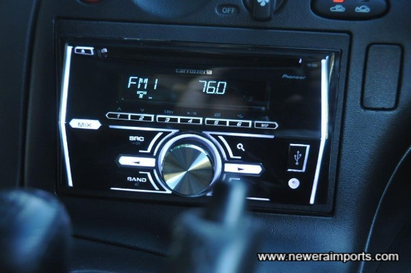Carrozzeria hifi is a top quality unit.