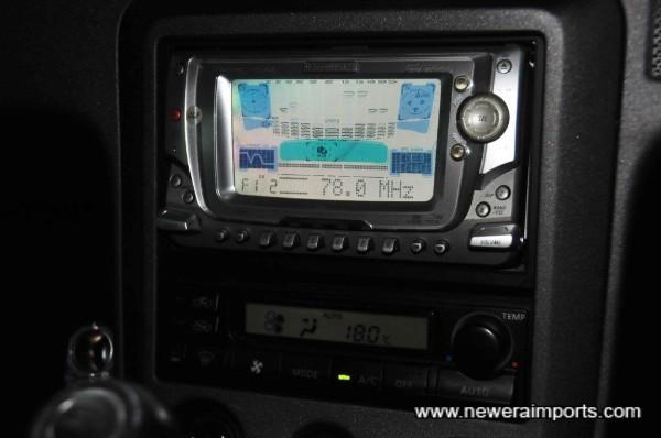 Carrozzeria 190W Audio.