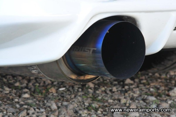 Very rare & highly sought after Trust Power Extreme Full Titanium Exhaust.