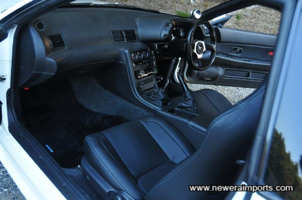 Interior consists of a brand new Robson leather retrim.