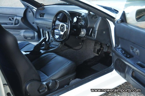 Interior re-trim by Robson Leather!