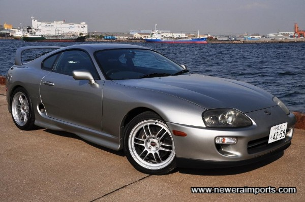This is one of our favourite colours for a Supra.