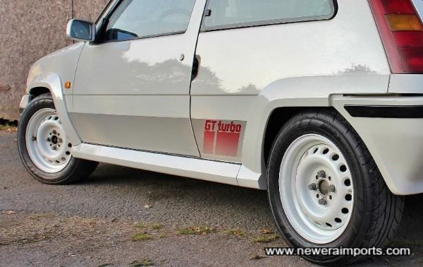 Paintwork is pristine and panels are straight and original.