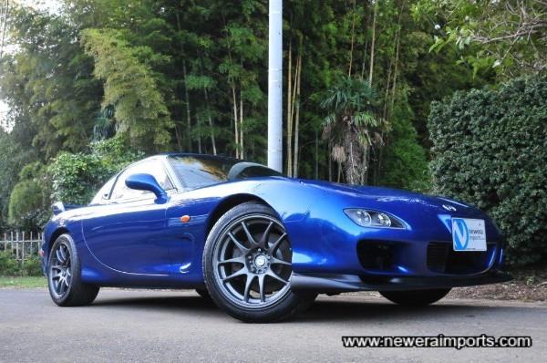 Work emotion CR Kai wheels suit this car beautifully!