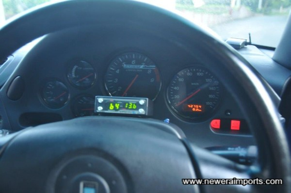 All warning lights are present & operating correctly.
