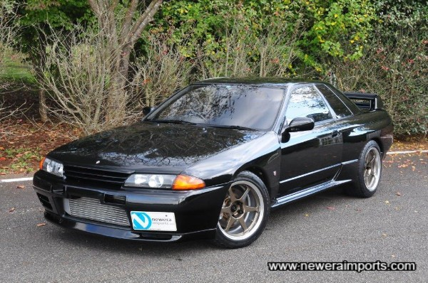 This is the first black metallic R32 we have had in stock for years!