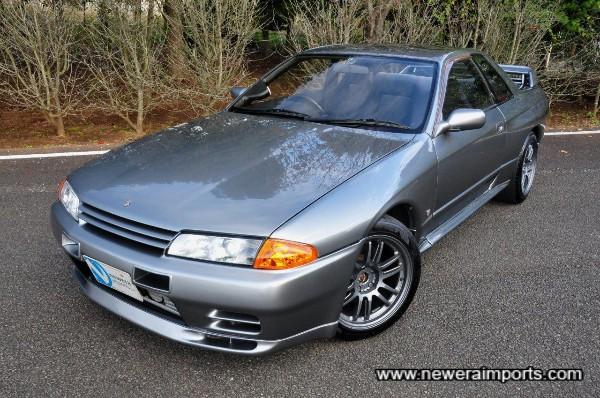 Dark Silver metallic (WV2) is a later model BNR34 original colour.
