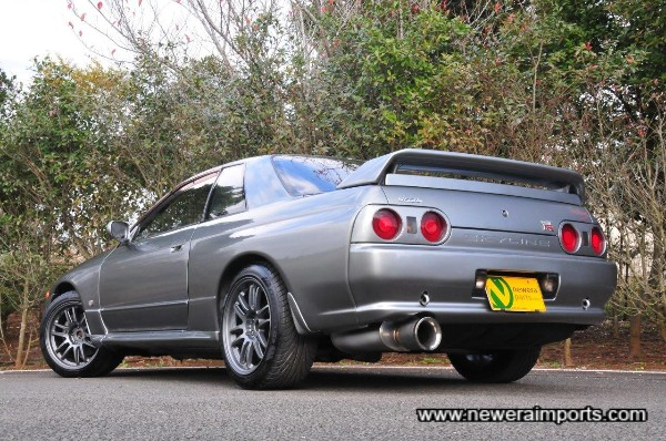 This is defnitely the best Silver shade for any Skyline GT-R.