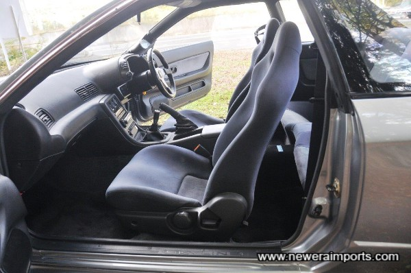 Interior is in excellent original condition.