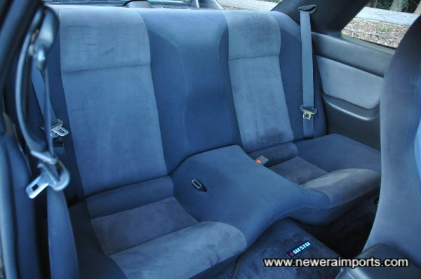 Rear seats are similarly in excellent original condition.