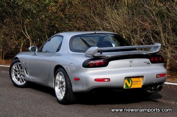 1999 rear spoiler is original too.