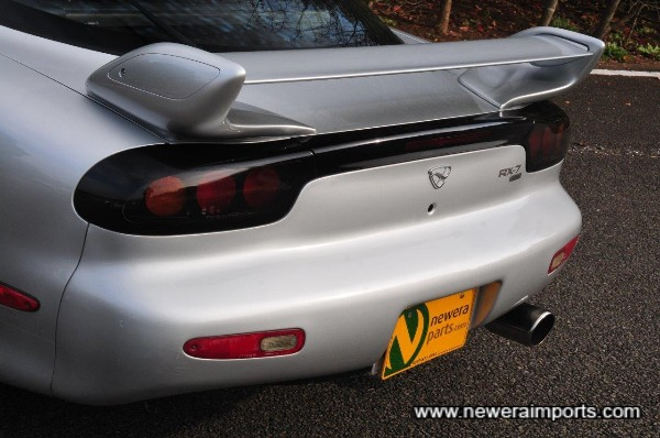 1999+ rear spoiler is a genuine original - also very rare.