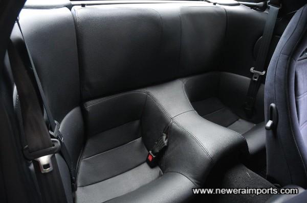 Rear seats are unused.