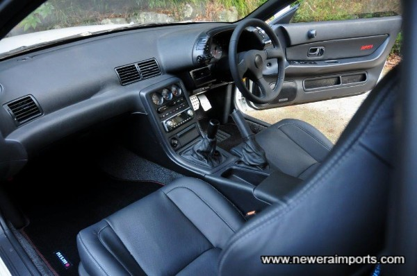 Robson leather interior - the best there is for 32's!