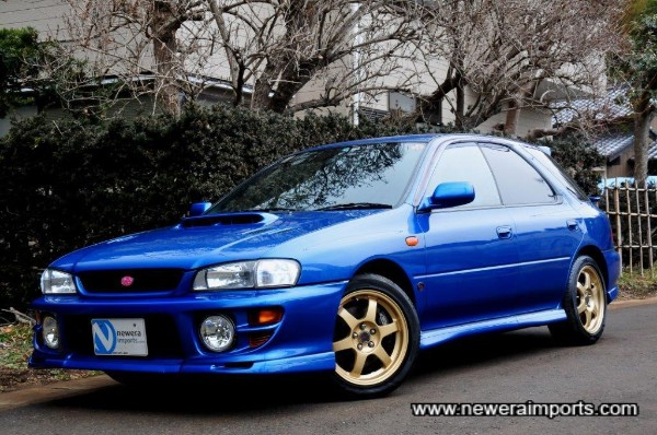 The best Impreza Sti Sports Wagon we've had in years of targetting these for stock!