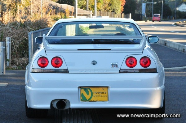 Also includes original Nismo rear bumper and Nismo NE-1 exhaust system.