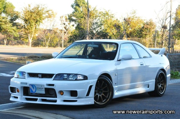 We only like R33's with Nismo full bodykits, as they look too plain otherwise!