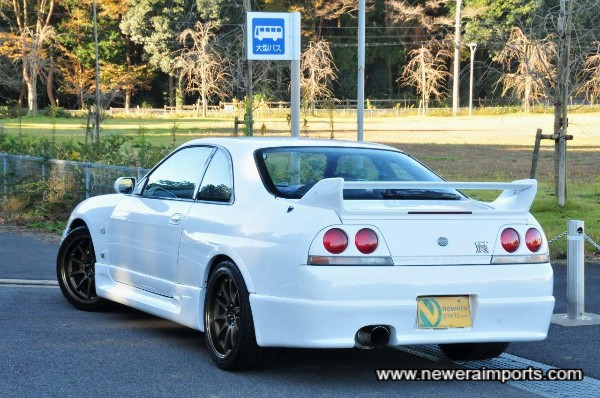 The best spec'd  Series II original Skyline R33 GT-R available