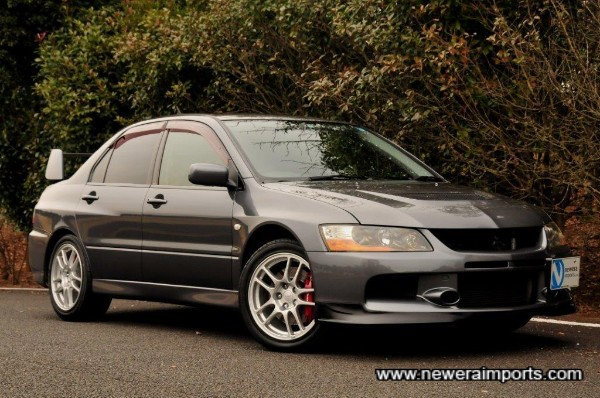 Our favourite of the Evo VII - IX models. It's the best one too!