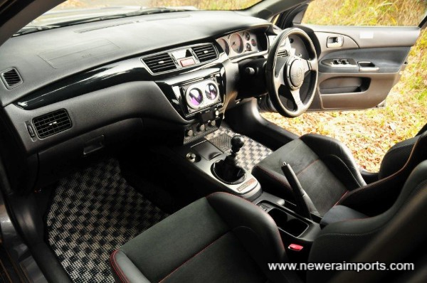 Interior is in beautiful condition - in keeping with original mileage.
