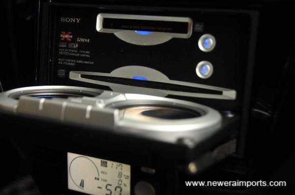 Sony 200W head unit.