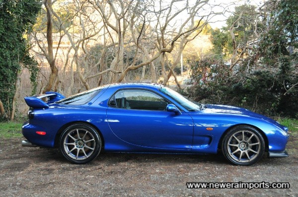 Wedsport SA-70 alloys suit this car beautifully.