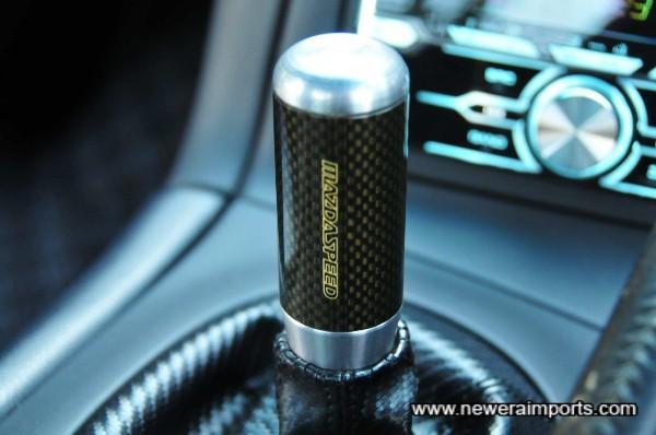 Original Mazdaspeed Carbon shift knob.