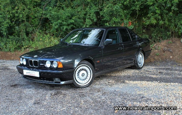 A stunning concours example of an E34 M5. Low mileage & 100% (underside incl) rust free!