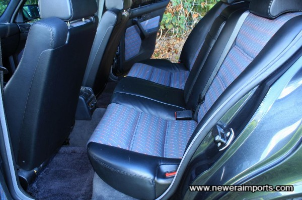 Rear Seats look like they've never been used!