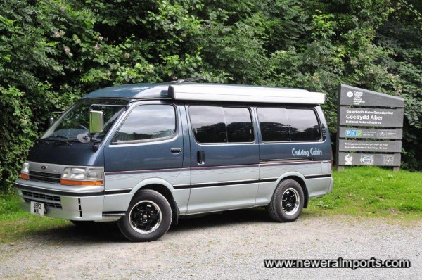 Better than a VW Westfalia - which would fetch twice the price!