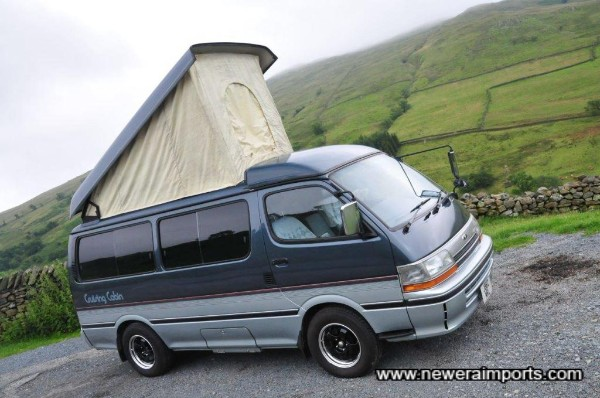 An amazing camper. Drives perfectly too (2.8 Toyota Diesel).