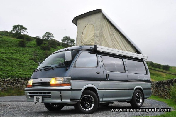 Westfalias don't have such a well appointed interior, nor heating and rear air conditioning!