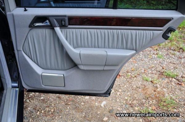 Rear o/s door panel.