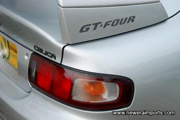 GT-Four emblems were only fitted to final production models.