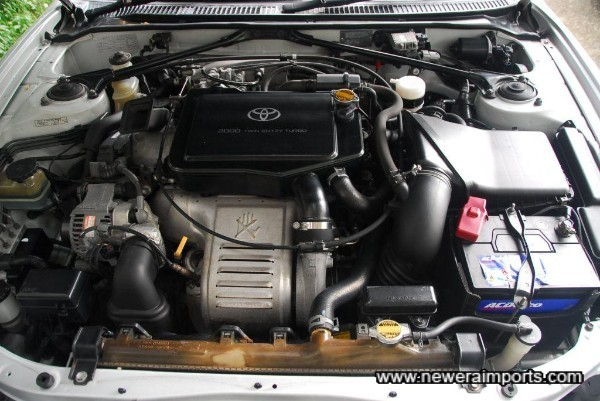 Engine bay is clean & well presented.